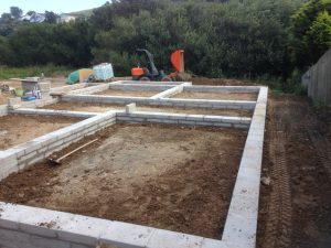 Portmellown Bungalow Foundations - Complete Builders