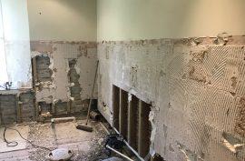 St Veep Renovation Work